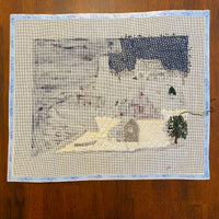 Christmas at the Lightkeepers - partially stitched