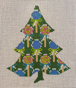Tutti Fruity Lollipop Tree with stitch guide