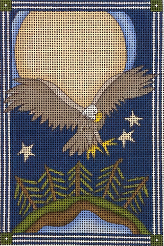 Midnight Eagle with stitch guide
