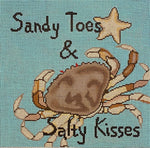 Sandy Toes & Salty Kisses