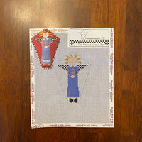 Ragdoll Angel with stitch guide