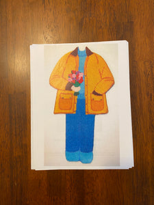 Paper Doll Club - May (canvas and guide)