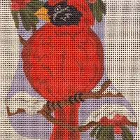 Cardinal Mini Sock (Giclee)