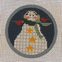 Bitty Snowman with stitch guide