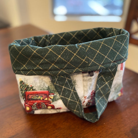 Small Reversible Project/Thread Bag