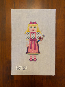 Girl with Nutcracker