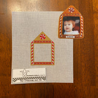 Gingerbread Frame with stitch guide