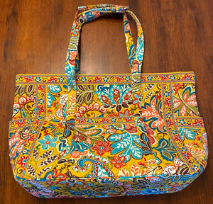 Yellow Pattern Bag