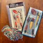 Fishing Lures Stitch & Zip - some stitching