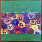 Embroidered Pansies
