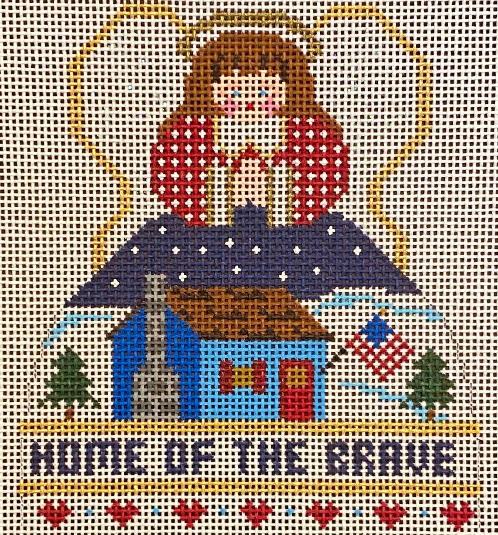 Home of the Brave Mini Angel