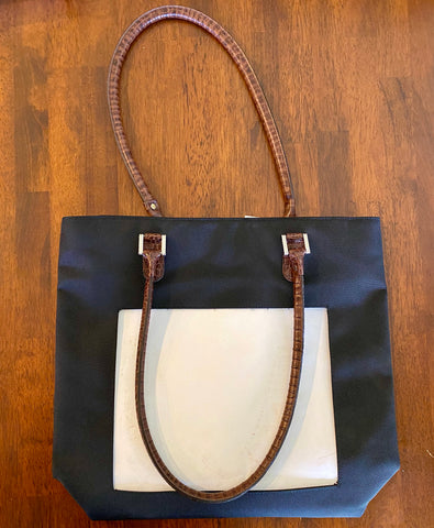Nylon Shopper Bag