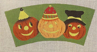 Three Pumpkins