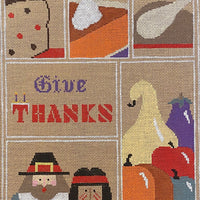 Give Thanks Sampler with stitch guide