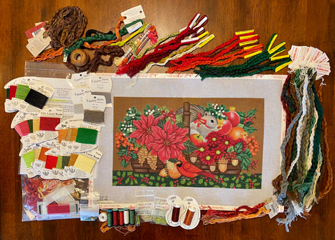 Wildwood Christmas Basket Kit from Amy Bunger