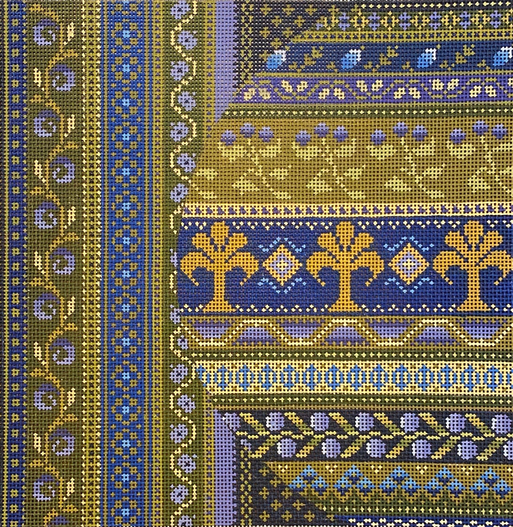 Middle East in Blue and Gold