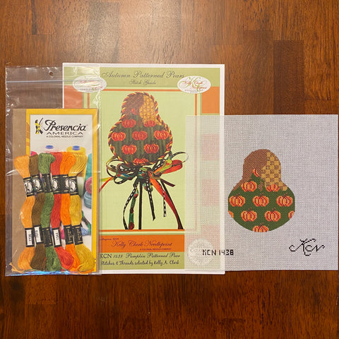 Pumpkin Patterned Pear Kit