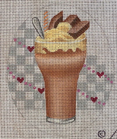 Chocolate Malt with stitch guide