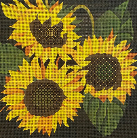 Sunflower Giant with stitch guide