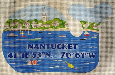 Nantucket Harbor Whale (Large)