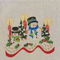Snowman Stocking Topper