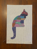 Mom Cat with stitch guide
