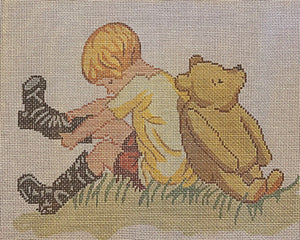 Christopher's Boots by Barbara Russell (Giclee)