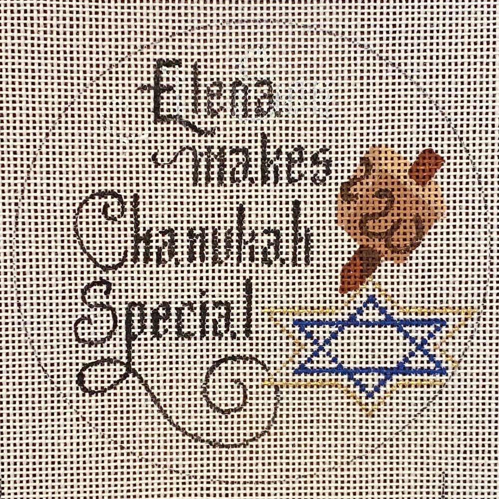 Elena makes Chanukah Special