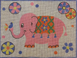 Vintage Pink Elephant on Penelope