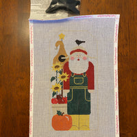 Harvest Santa with stitch guide