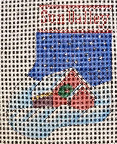 Sun Valley Barn Mini Stocking