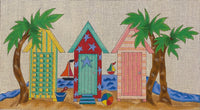 Cabanas by the Sea with stitch guide