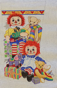 Raggedy Ann and Andy Stocking