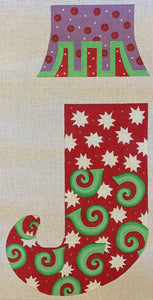 Colorful Stocking with Separate Cuff