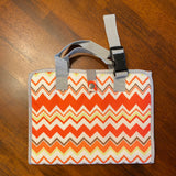 Orange Project Organizer Bag