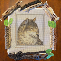Wolf with threads