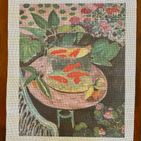 Goldfish in Bowl giclee print
