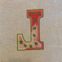 Initial L - partially stitched