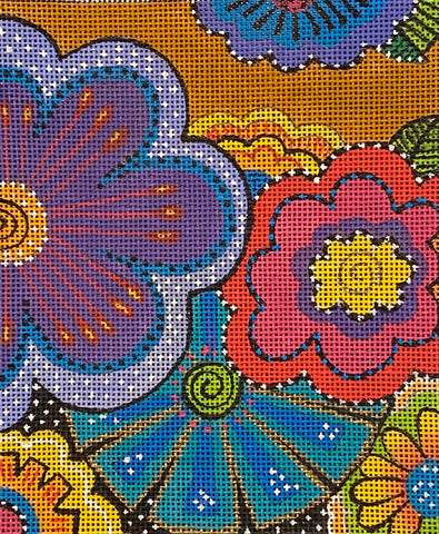 Floral Fun with stitch guide