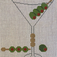 Martini with stitch guide