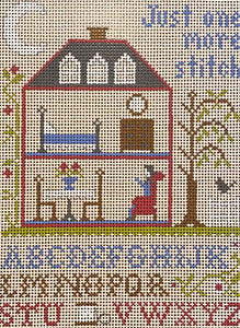 Just One More Stitch Sampler