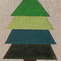Fancy Fir with stitch guide