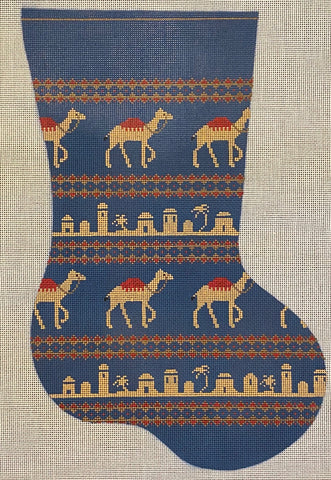 Vintage Camel Pattern Stocking