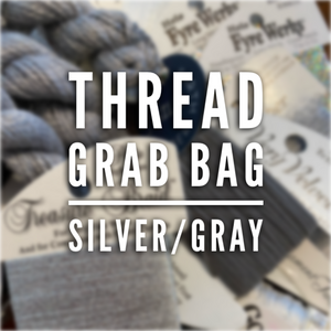 Thread Grab Bag: Silver/Gray