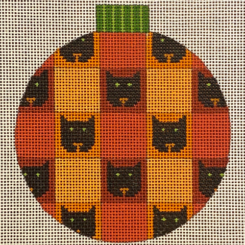 Cat Patterned Round