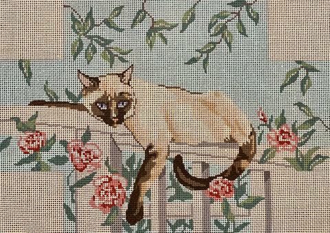 Siamese Cat Brick Cover