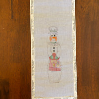 Baker Snowman (partially stitched)
