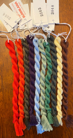 10 skeins of Burmilana