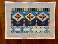 Fretwork / Tassels Oblong II