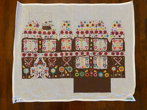 Gingerbread House Pillow